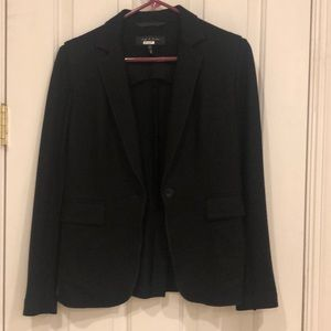 Black rag and bone blazer